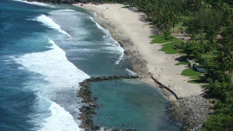 Plage de Grande Anse - île de La Réunion