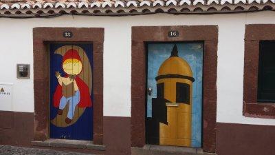 Les maisons colorées de Funchal - Madère