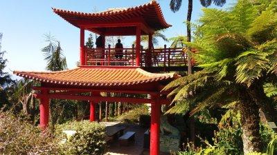 Le jardin oriental de Monte Palace (Funchal - Madère)