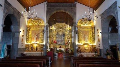 L'église matrice de Santana - Madère