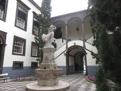 L'hôtel de ville de Funchal - Madère