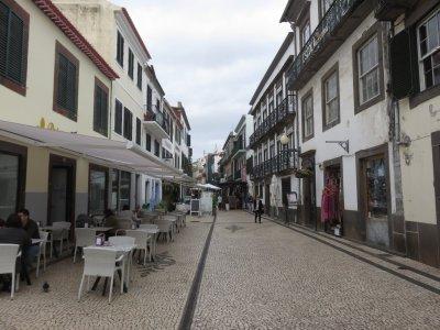 Dans les rues de Funchal - Madère