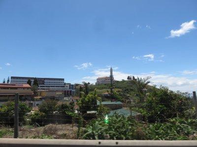 Sur la route littorale vers Funchal - Madère