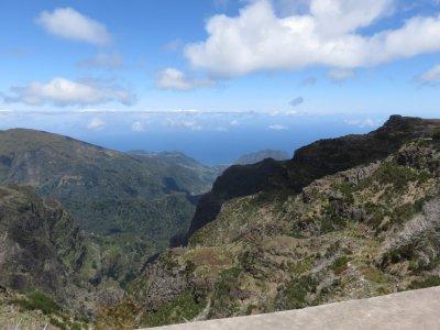 Point de vue depuis le Pico de Arieiro - Madère