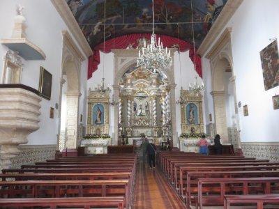 L'église de Ponta Delgada - Madère