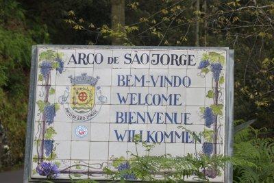 Arco de Sao Jorge - Madère