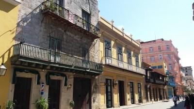 Dans la rue Obispo - La Havane (Cuba)