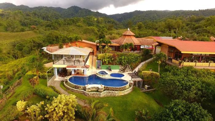 L'hôtel Linda Vista - El Castillo (Costa Rica)