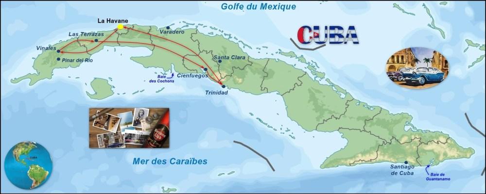 Notre circuit à Cuba (2019)