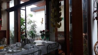 Petit déjeuner à la Casa Mora - Cartago (Costa Rica)