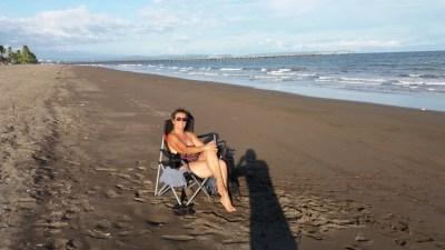 Sur la plage de Puntarenas - Costa Rica
