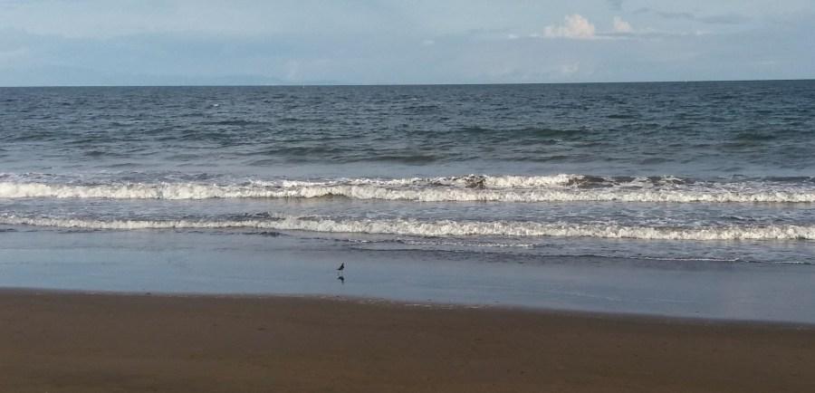 La plage de Puntarenas - Costa Rica