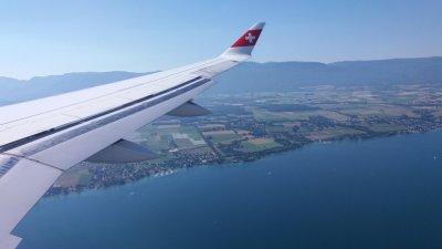 Retour en France - Arrivée sur Genève depuis le Costa Rica