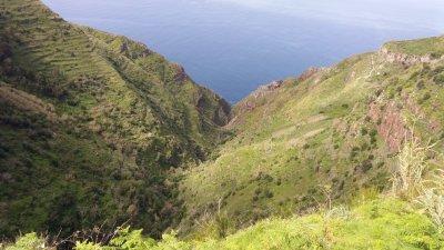 Vue depuis le Phare de Ponta Do Pargo - Madère