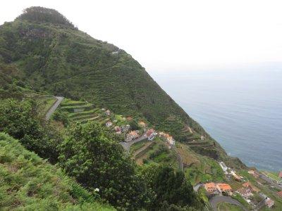 Sur les hauteurs de Porto Moniz - Madère