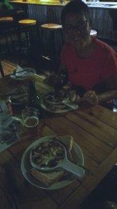 Des escargots au dîner - Kasane (Botswana)