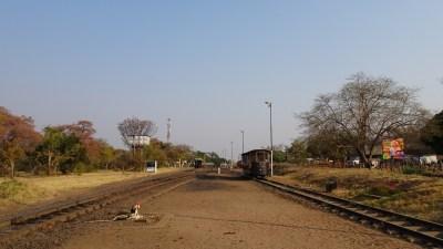 La voie ferrée de Victoria Falls - Zimbawe