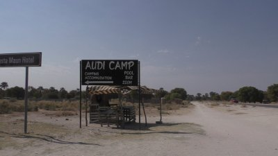 Audi camp - Maun (Botswana)