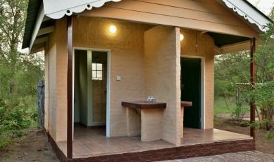 Les sanitaires du campsite de Muchenje - Botswana