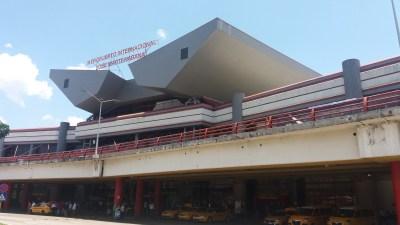l'aéroport de La Havane (Cuba)