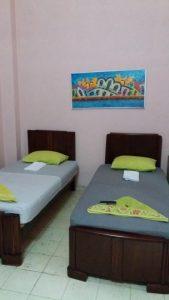 Notre chambre chez l'habitant rue Cardenas - La Havane (Cuba)