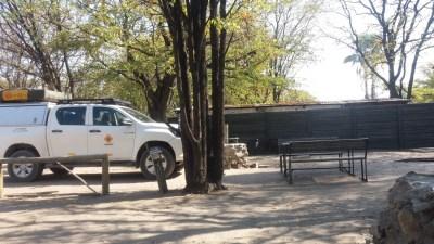 Arrivée au campsite Audi Camp - Maun (Botswana)
