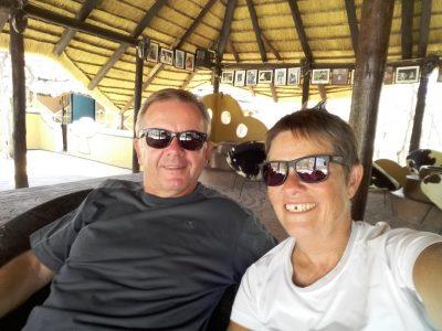 Au bar du campsite Planet Baobab - Botswana