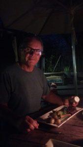 Au restaurant du Old House Lodge de Kasane - Botswana