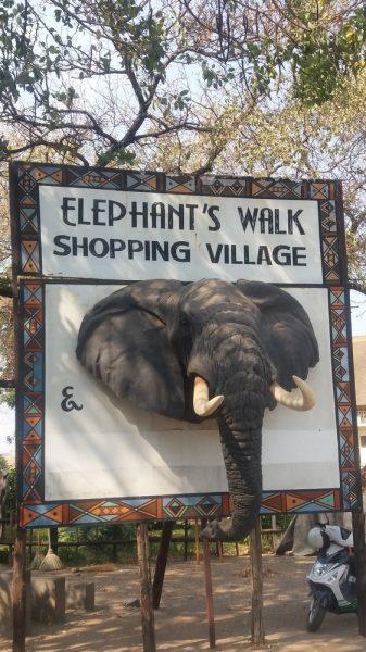 En ville à Victoria Falls - Zimbabwe