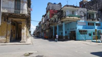 La rue Cardenas - La Havane (Cuba)