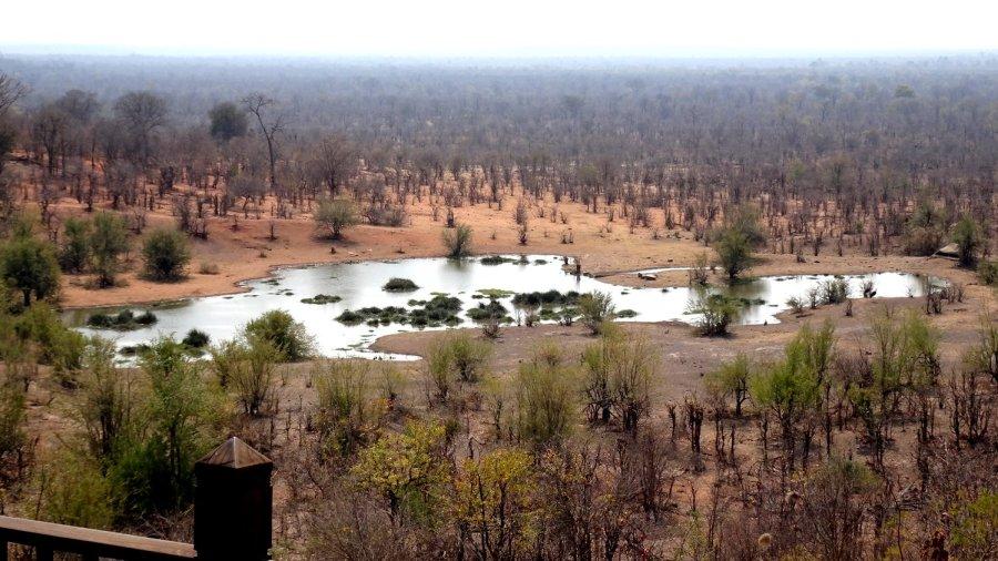 Vue depuis le Lokhotula Lodge - Victoria Falls (Zimbabwe)