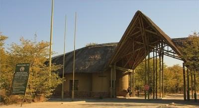 Mababe Gate - Botswana