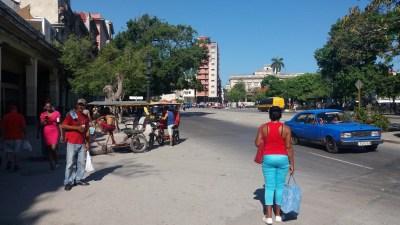 Près du Capitole - La Havane (Cuba)