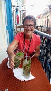 Au restaurant à La Havane rue Obispo - Cuba