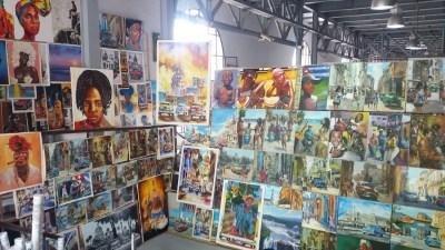 le marché des artisans de Almacenes San Jose - La Havane (Cuba)