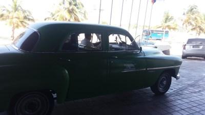 Notre taxi - La Havane (Cuba)