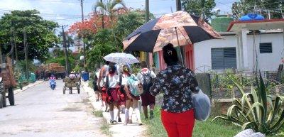 Dans les rues de Vinales - Cuba