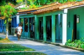 L'avenue principale de Vinales - Cuba