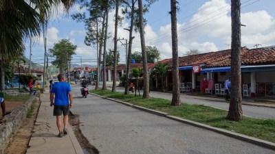 La rue principale de Vinales - Cuba