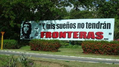 """""""Moi, mes rêves n'auront pas de frontières"""" - Che Guevara (CUBA)"""