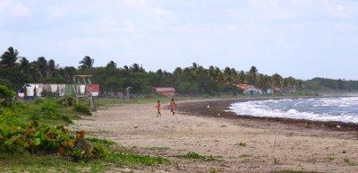 La plage de Boca de Galafre - Cuba