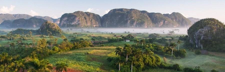 La vallée de Vinales et les mogotes - Cuba