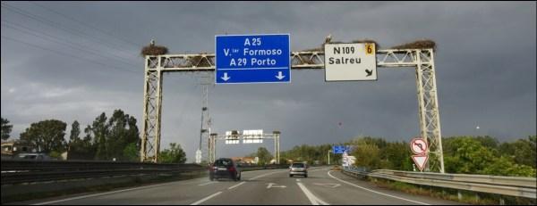 Les péages au Portugal