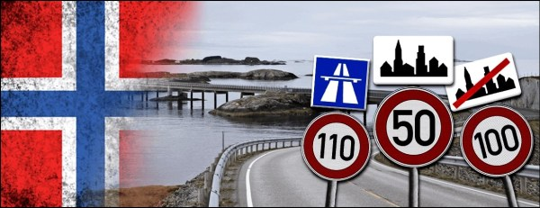 Les règles de circulation en Norvège