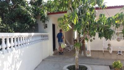 """A la casa """"villa Duque"""" de Las Terrazas - Cuba"""