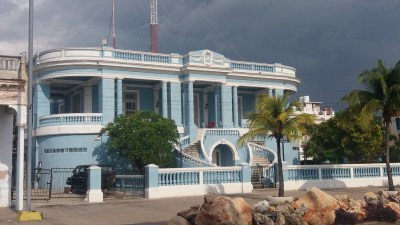 Belles demeures sur le Malecon - Cienfuegos (Cuba)