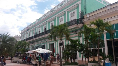 Dans les rues piétonnes de Cienfuegos - Cuba