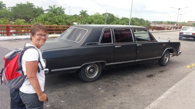 Notre taxi pour l'aéroport de La Havane - Cuba