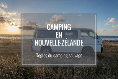 Camping en Nlle Zélande