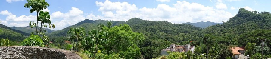 Vue depuis le jardin botanique Orquideario de Soroa - Cuba